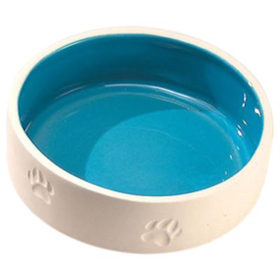 EBI Keramiknapf mit Pfoten L 600 ml
