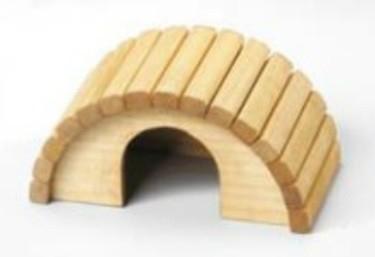 EBI Holz - Nagerhaus  22cmx11.5cmx11cm 22x11.5x11 cm