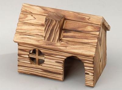 """EBI Holz-Hamsterhaus """"Chimney"""" 15x10.5x11 cm"""