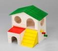 """EBI Holz-Hamsterhaus """"Alfie"""" Verschiedenfarbig vorteilhaft"""