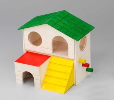 "EBI Holz-Hamsterhaus ""Alfie"" 19x14 x15.5 cm"