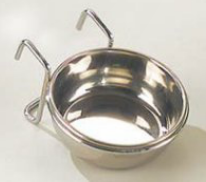 EBI Stahlnapf 0.1L (flach) Hänge-Befestigung 100 ml