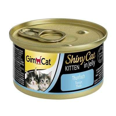 GimCat ShinyCat in Jelly Kitten Tonijn 70 g
