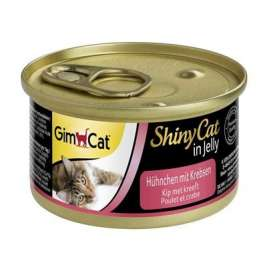 GimCat ShinyCat Chicken with Crab  70 g