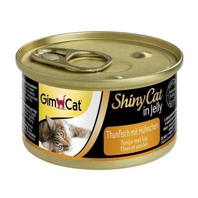 GimCat ShinyCat Thunfisch mit Hühnchen 70 g