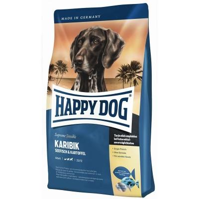 Happy Dog Supreme Sensible Karibik con Pesce di mare e Patate  300 g, 12.5 kg, 1 kg, 4 kg, 10 kg