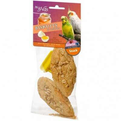 JR Farm Birds Biskuits Ei & Honig  2x20 g