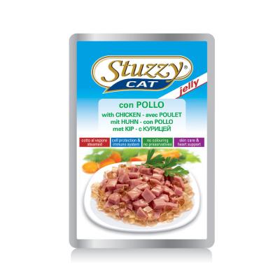 Stuzzy Cat Jelly cu Pui 100 g