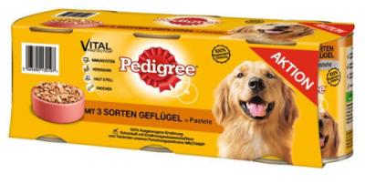 Pedigree Megapack med 3 Sorters Fågel  3x800 g