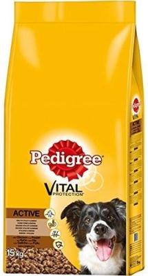 Pedigree Active med Kylling  7.5 kg, 15 kg