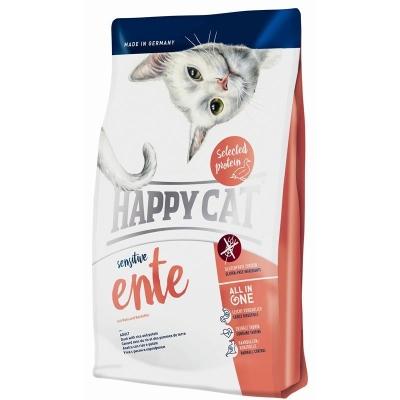 Happy Cat Sensitive Eend met Rijst en Aardappel 1.4 kg, 300 g, 4 kg