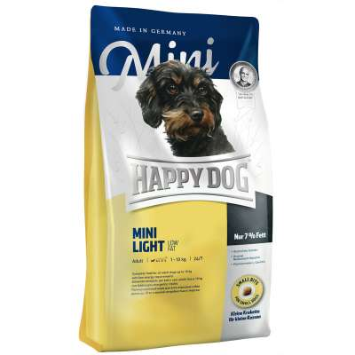 Happy Dog Mini Light Low Fat  4 kg, 300 g, 1 kg