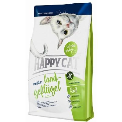 Happy Cat Sensitive Organische Gevogelte med Rijst en Aardappel 1.4 kg, 300 g, 4 kg