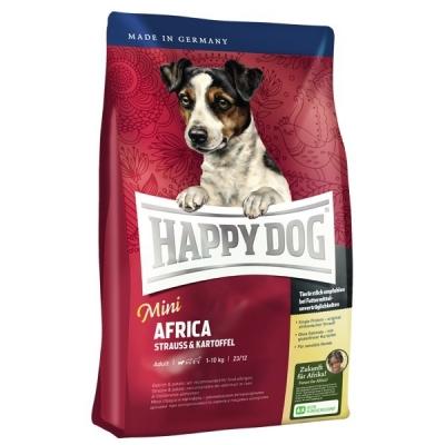 Happy Dog Supreme Mini Africa avec L'Autruche & Pommes de terre  300 g, 1 kg, 4 kg