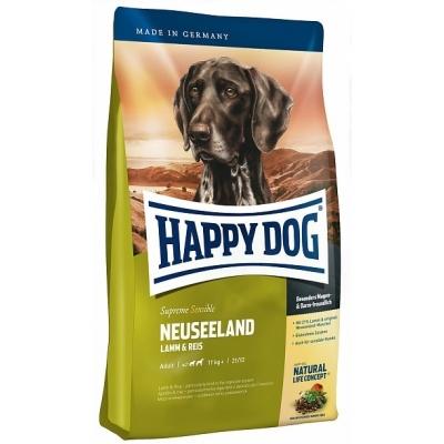 Happy Dog Supreme Sensible Neuseeland kanssa Lamb ja Rice  4 kg, 1 kg, 12.5 kg, 300 g, 10 kg