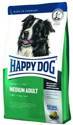 Happy Dog Supreme Fit & Well Medium Adult  4 kg, 300 g, 14.5 kg, 12.5 kg, 1 kg