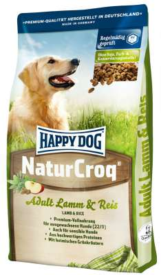 Happy Dog NaturCroq Adult Lam & Rijst  18 kg, 15 kg, 4 kg, 1 kg