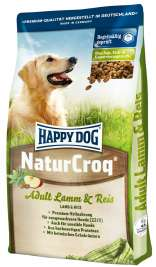 NaturCroq Adult Lamm & Reis Happy Dog 4001967038057