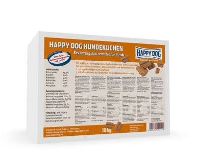 Happy Dog Cano Hundekuchen 10 kg