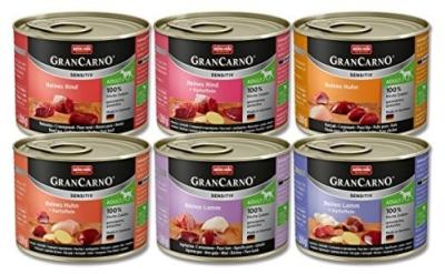 Animonda GranCarno Sensitive Adult Mix-Paket  6x800 g, 6x400 g, 6x200 g