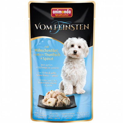 Animonda Vom Feinsten Adult with Chicken Breast, White Tuna & Spinach  100 g