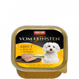 Vom Feinsten Adult Okse, æg & skinke Animonda 4017721826679