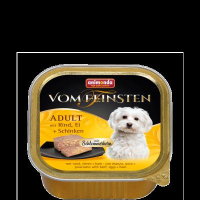 Animonda Vom Feinsten Adult Okse, æg & skinke  150 g