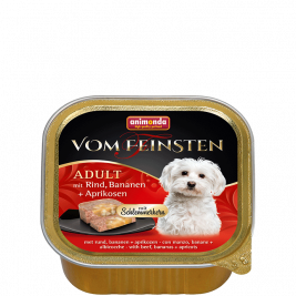 Vom Feinsten Adult with Beef, Banana and Apricots Animonda 4017721826662
