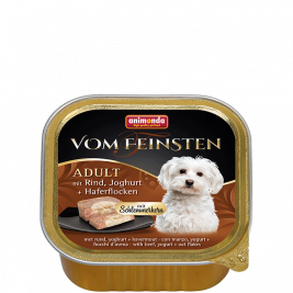 Vom Feinsten Adult with Beef, Yoghurt & Oatmeal Animonda 4017721826655