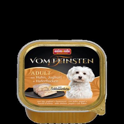Animonda Vom Feinsten Adult Kylling, Yoghurt & Havregryn  150 g