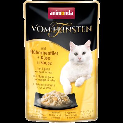 Animonda Vom Feinsten Adult mit Hühnchenfilet & Käse in Sauce 50 g