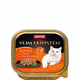 Vom Feinsten Adult with Chicken in Carrot Sauce Animonda 4017721833622