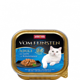 Vom Feinsten Adult with Salmon in Herbal Sauce Animonda 4017721833615