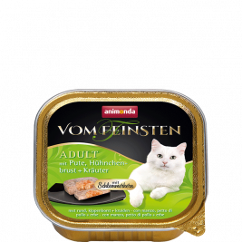 Vom Feinsten Adult with Turkey, Chicken breast + Herbs Animonda 4017721832656