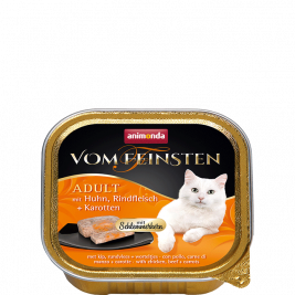 Vom Feinsten Adult with Chicken, Beef and Carrot Animonda 4017721832625