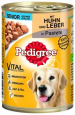 Pedigree Senior Classic Chicken & Liver in Pate 400 g Billig
