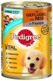 Pedigree Junior Fjærkre & Ris  400 g