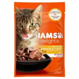 Delights Huhn & Pute in Sauce Iams  8710255100098