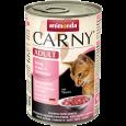 Carny Adult Manzo, Tacchino + Gamberetti 400 g da Animonda