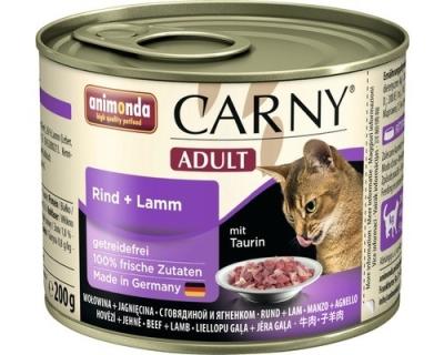 Animonda Carny Adult Rund & Lam 6x200 g, 6x400 g, 800 g, 400 g, 200 g