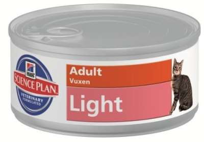 Hill's Science Plan Feline - Light Adult med Kyckling 156 g