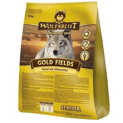 Wolfsblut Gold Fields Senior mit Kamel & Süßkartoffeln  500 g, 2 kg, 15 kg