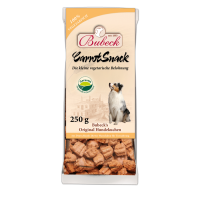 Bubeck Carrot Snack 250 g Mrkev