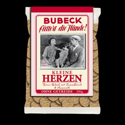 Bubeck Little Hearts 210 g Jehněčí maso & Laskavec