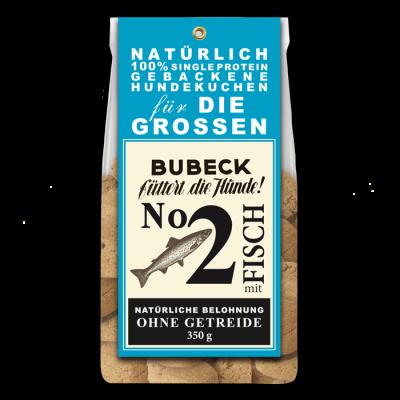 Bubeck No. 2 mit Fisch -Die Grossen- Fisch 350 g