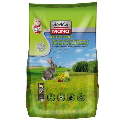 MAC's Cat Adult - Monoprotein Kaninchen 7 kg, 300 g, 1.5 kg
