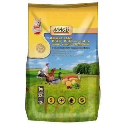 MAC's Adult Eend, Kalkoen & Kip 7 kg, 1.5 kg, 300 g