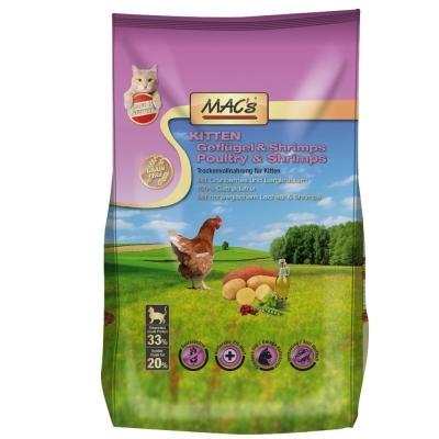 MAC's Kitten - Gevogelte & Garnalen 7 kg, 300 g, 1.5 kg