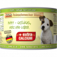 Feinschmecker Menü Puppy - Poultry, Hearts & Liver canned MAC's 200 g