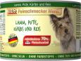 Feinschmecker Menü - Lamm, Pute mit Kürbis & Reis in der Dose von MAC's 200 g